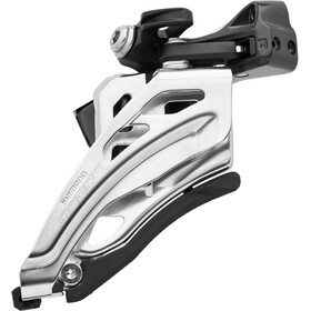 Shimano Deore MTB FD-M6020 Front Derailleur 2x10-speed Side Swing Clamp Middle, black